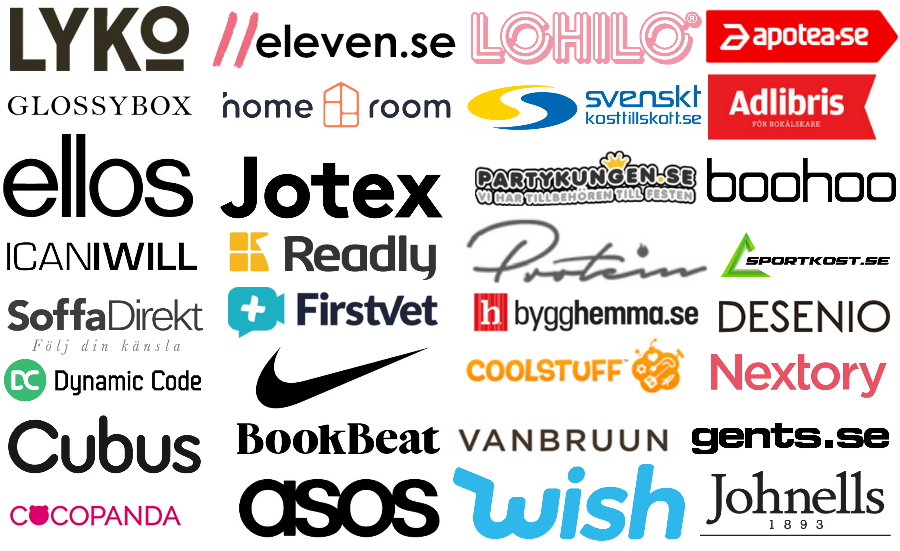 Brands som sammarbetar med Interlaced Influencers, kunder