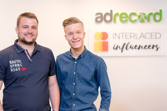 Carl Kling - Interlaced Influencers och Jonny Elofsson - Adrecord
