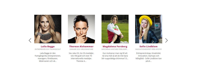 Cover image for Blogga om kvinnliga talare!