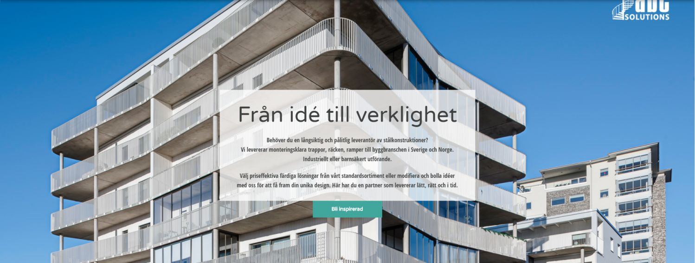 Cover image for Blogga om ABC Solutions ståltrappor!