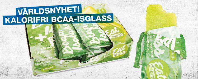 Cover image for Världsnyhet: Kalorifri BCAA Isglass! Vi söker blogg på egen domän.